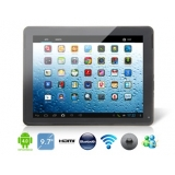 "PIPO MAX-M2 9.7"" Android 4.1.1 Dual Core RK3066 1.6GHz Tablet PC with External 3G, Bluetooth, Dual AAC Speaker, Handwriting, Capacitive Touch IPS (16G) (Black)"