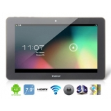 "Ainol Crystal 7"" Android 4.1.1 Dual Core 8726-M6 1.5GHz Tablet PC with External 3G, 1080P HDMI Playback, GPS, IPS Capacitive Touch (8G) (Black)"