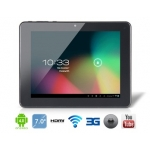 ICOO ICOU7W 7&quot; 4:3 Android 4.0.4 A13 1.5GHz Tablet PC with External 3G, 2160P HDMI Playback, G+G Capacitive Touch (4G) (White)