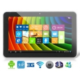 "AMPE A96 9"" Android 4.0 A13 1GHz Tablet PC with Win8 Metro UI, External 3G, Capacitive Touch (8G) (Black)"