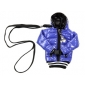 Windbreaker Shaped Bag for iPhone, Samsung, HTC and Nokia (Blue)