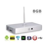 MELE A3700 Android4.0.3 A10 1.0GHz 8GB 3D Smart TV Box with 3 x USB, VGA, RJ45 & Optical Port MELE A3700 (White)