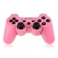Refurbished Six-axis Dual Shock 3 Wireless Controller for PS3 (Pink)