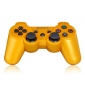 Refurbished Six Axis Dualshock Wireless Controller for PS3 (Golden)