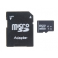 8 GB Class 4 TF Card with SD Adapter (Black)