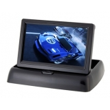 4.3 Inch TFT LCD Screen Foldable Shiny 4301 Display (Black)