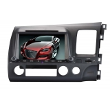 "8"" DVD Player for Honda Civic 2008 - HD Touch Screen, GPS Navigation"