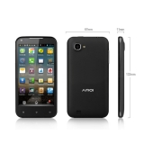 Amoi N828 Android 4.2 MTK6589 Quad Core 4.5 inch Dual Sim Multi Language(black)