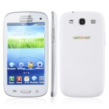 S3 I9300 Phone TV Wifi Dual SIM Dual Camera (White)