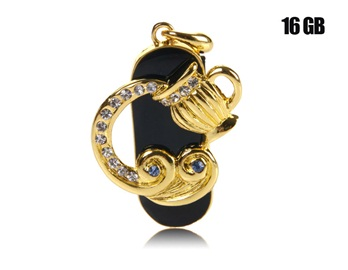 16G Gorgeous Aquarius Design USB Flash Drive (