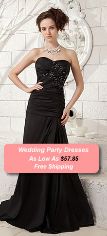Wedding Party Dresses, Free DHL Shipping